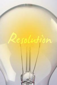 Les bonnes résolutions éclairent l'année à venir